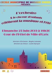 Concert de l'Orchestre et du Choeur d'Enfants