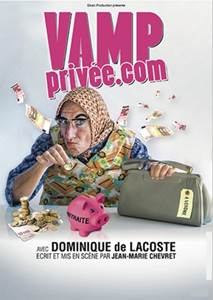 Vamp privée.com - One woman show