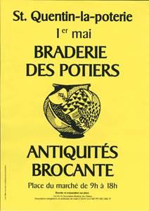 Braderie des potiers de St Quentin La Poterie