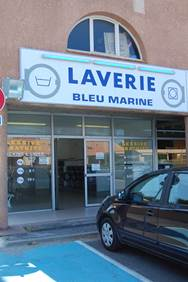 Laverie Bleu Marine