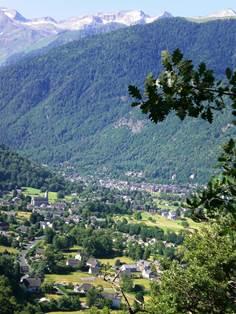 Vue vallée de Luchon