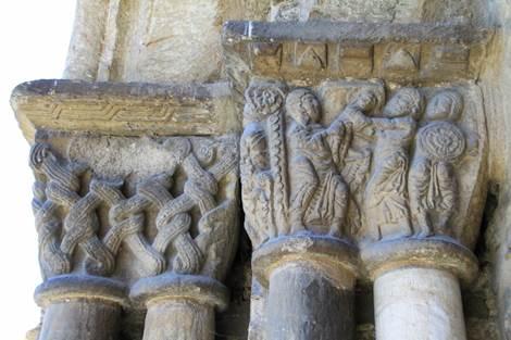 Eglise de Saint-Aventin Chapiteaux