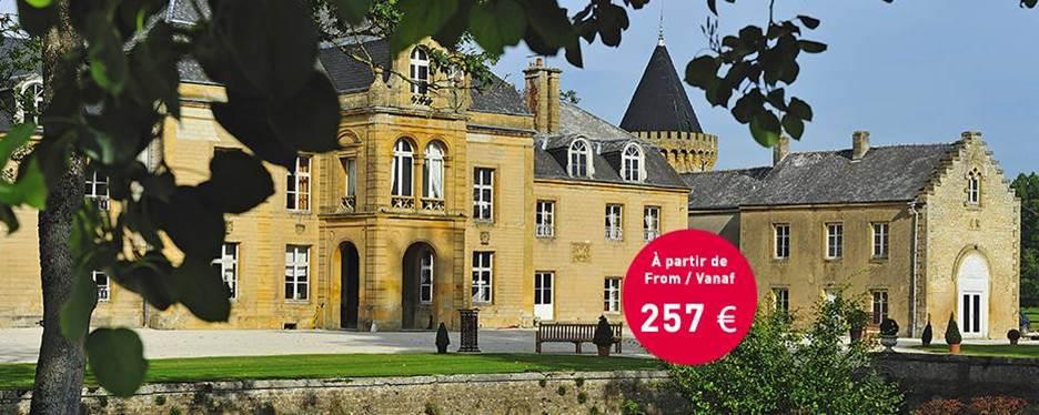 Romantisch weekend in het domein Château du Faucon