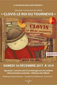 """Spectacle lecture """"Clovis le roi du tournevis"""""""