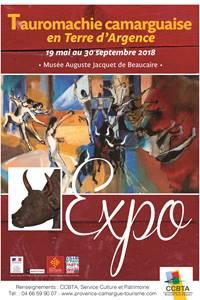 """Exposition """"Tauromachie Camarguaise en Terre d'Argence"""""""