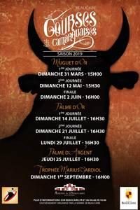 Courses Camarguaises Beaucaire Saison 2019