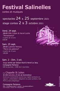 Festival Salinelles Conte, musique et poésie