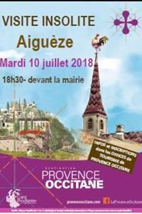 Visite insolite à Aiguèze