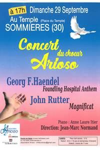Concert du Choeur Arioso