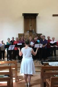 Concert stage chant chorale - Corconac