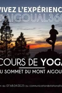 Cours de Yoga au sommet de l'Aigoual