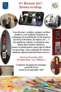 6ème biennale Artistes au village