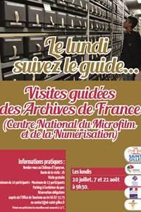 Visite guidée des Archives de France