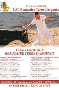 """Course Camarguaise """"Challenge Trophée Beaucaire Terre d'Argence"""" Finale"""