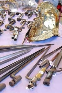 Salon de l'arme ancienne et antiquités militaires