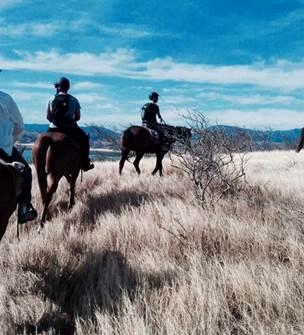 Ilot Puen (Randonnée équestre au ranch)