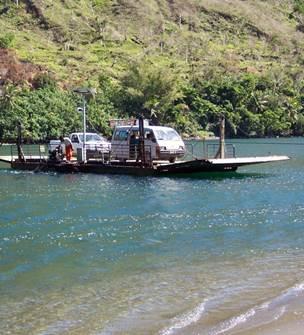 Ouaième River Ferryboat
