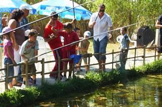 Etang de pêche à Aimargues