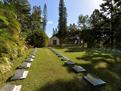 New Zealand Military Cemetery of Bourail