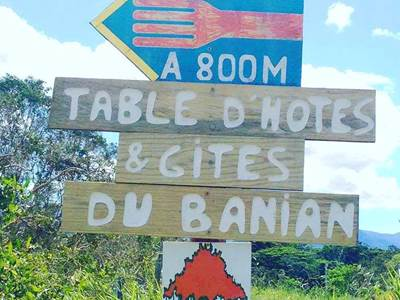 La Table du Banian - Table d'hôte