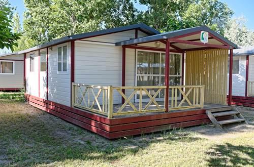 Lodge Confort 4 à 6 Personnes Camping de l'Espiguette © LEGDRDEV
