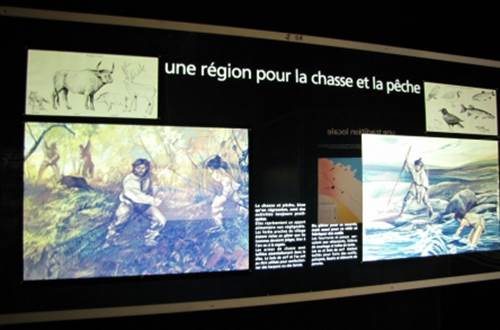 EXPOSITION DE LA PREHISTOIRE ©