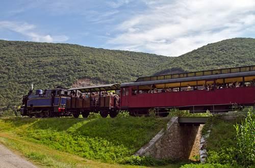 Train à Vapeur des Cévennes © Sud de France Développement
