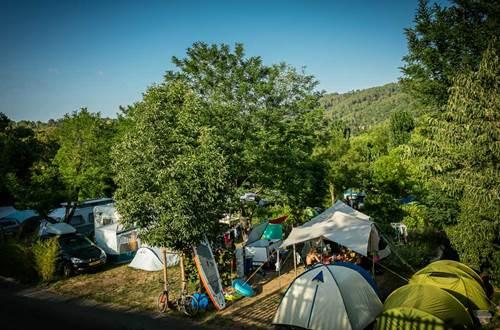 Camping De L'Arche ANDUZE SUD DE France © Sud de France Développement
