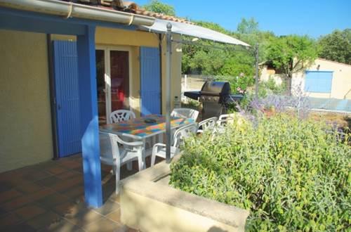 HUBERT Evelyne - Le 7 en Garrigue terrasse couverte © HUBERT Evelyne