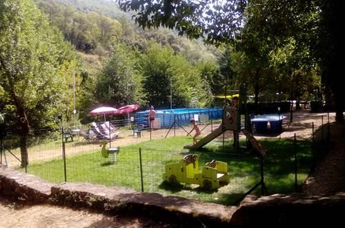 Camping L'Oree Des Cevennes - ST JEAN DE VALERISCLE ©