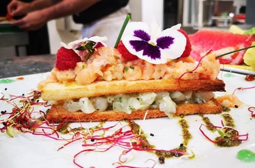 Restaurant La Source, le luxe dans l'assiette ! ©
