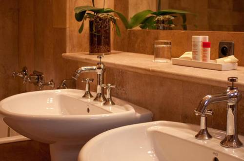 Hôtel Villa Mazarin salle de bain ©